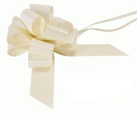 50mm Pull Bow - Ivory No.61 by Eleganza
