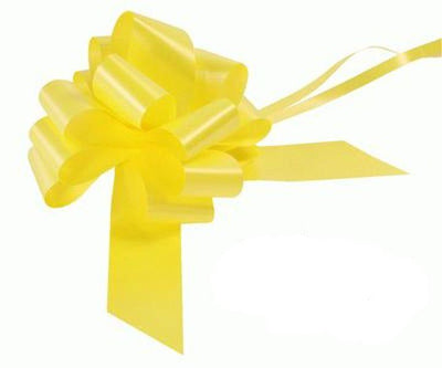 50mm Pull Bow - Yellow No.11 by Eleganza