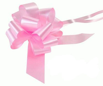 50mm Pull Bow - Lt.Pink No.21 by Eleganza