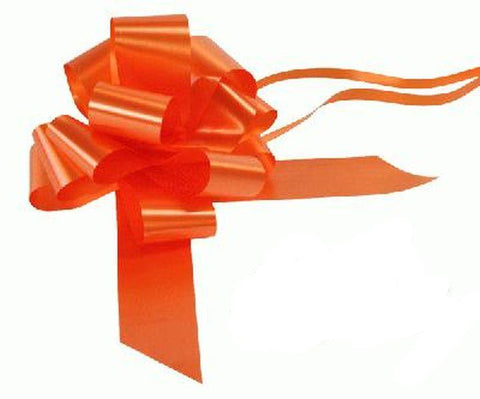 50mm Pull Bow - Orange No.04 by Eleganza