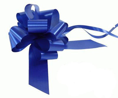 50mm Pull Bow - Royal Blue No.18 by Eleganza
