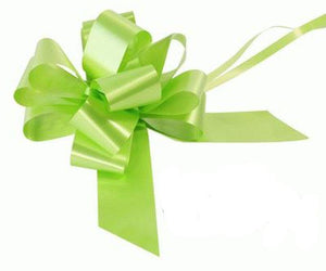 50mm Pull Bow - Lime Green No.14 by Eleganza