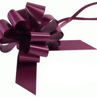 50mm Pull Bow - Aubergine No.23 by Eleganza