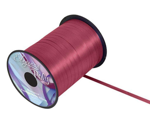 5mm Curling Ribbon - Burgundy No.17 by Eleganza - 500yds