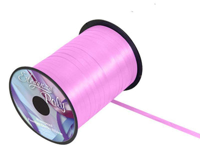 5mm Curling Ribbon - Classic Pink No.07 by Eleganza - 500yds