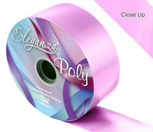 50mm Poly Ribbon - Classic Pink No.07 by Eleganza - 91m (100yds)
