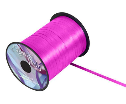 5mm Curling Ribbon - Fuchsia No.28 by Eleganza - 500yds