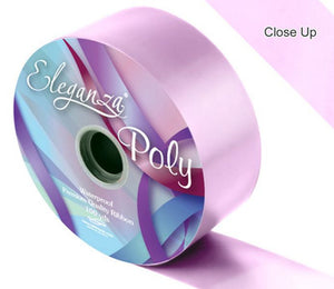 50mm Poly Ribbon - Lt.Pink No.21 by Eleganza - 91m (100yds)