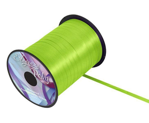 5mm Curling Ribbon - Lime Green No.14 by Eleganza - 500yds