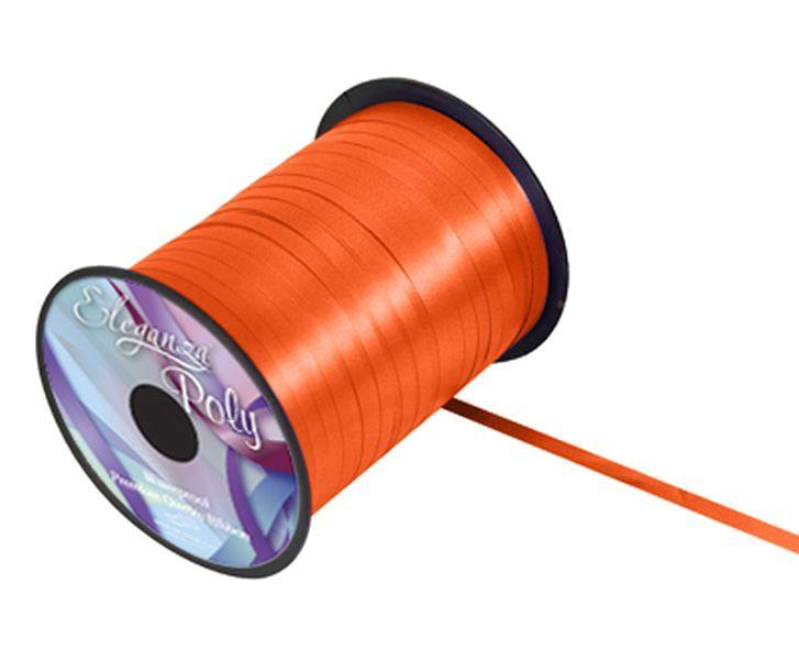 5mm Curling Ribbon - Orange No.04 by Eleganza - 500yds