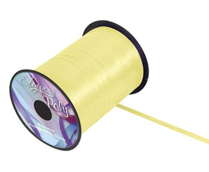 5mm Curling Ribbon - Pale Yellow No. 10 by Eleganza - 500yds