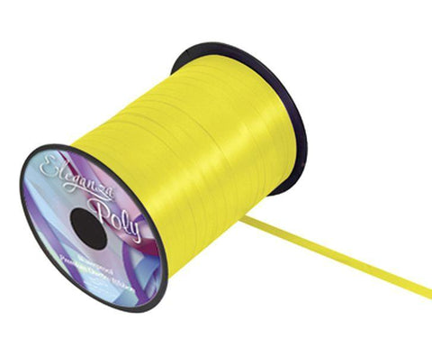 5mm Curling Ribbon - Yellow No.11 by Eleganza - 500yds