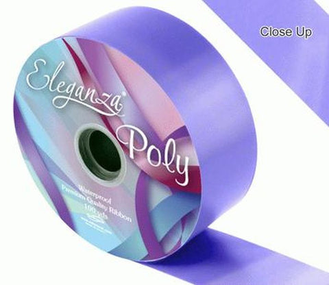 50mm Poly Ribbon - Lavender No.45 by Eleganza - 91m (100yds)