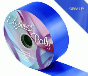 50mm Poly Ribbon - Royal Blue No.18 by Eleganza - 91m (100yds)
