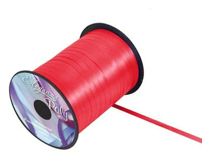 5mm Curling Ribbon - Red No.16 by Eleganza - 500yds