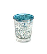 Light Blue Mercury Votive Holder - From Heart and Home
