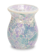 Light Blue Crackle Warmer - From Heart and Home