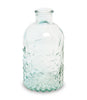 Light Blue Glass Bottle - From Heart and Home