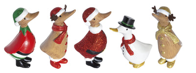 DCUK Dinky Ducks - Set of 5 Ducks - Xmas 2019