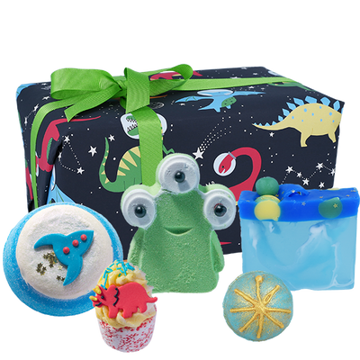 Dino-Mite Gifts - Wrapped from Bomb Cosmetics