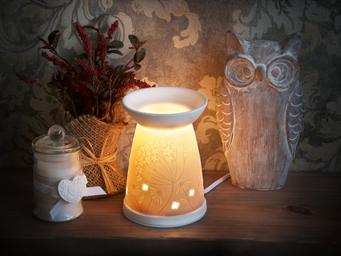 Floral Electric Wax Melt Warmer