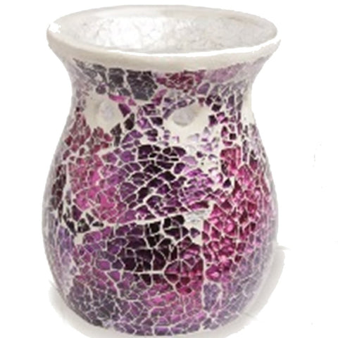Mulberry Crackle Wax Melt Warmer - From Heart and Home
