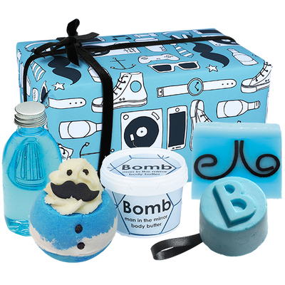 Age Hipster Gifts - Wrapped from Bomb Cosmetics