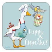 Cuppa & a Cupcake - Single Coaster - Emma Ball