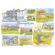 Shropshire Set of 4 Placemats - Emma Ball