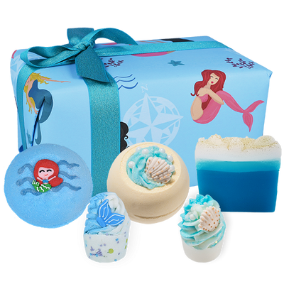 Part Time Mermaid Gifts - Wrapped from Bomb Cosmetics
