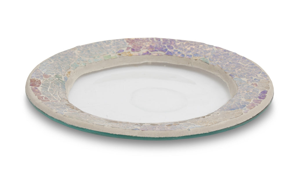 Pearl Crackle Jar Plate - From Heart and Home