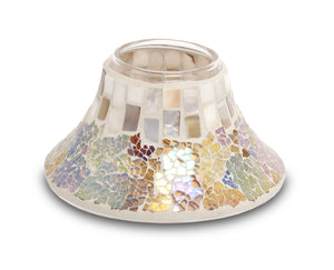Pearl Mosaic Large Jar Lampshade - From Heart and Home