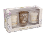 Pearl Mercury (2V&1H) - Pearl Bouquet/Cotton Soft - From Heart and Home