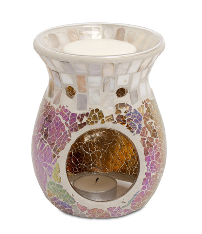 Pearl Mosaic Crackle Warmer - From Heart and Home