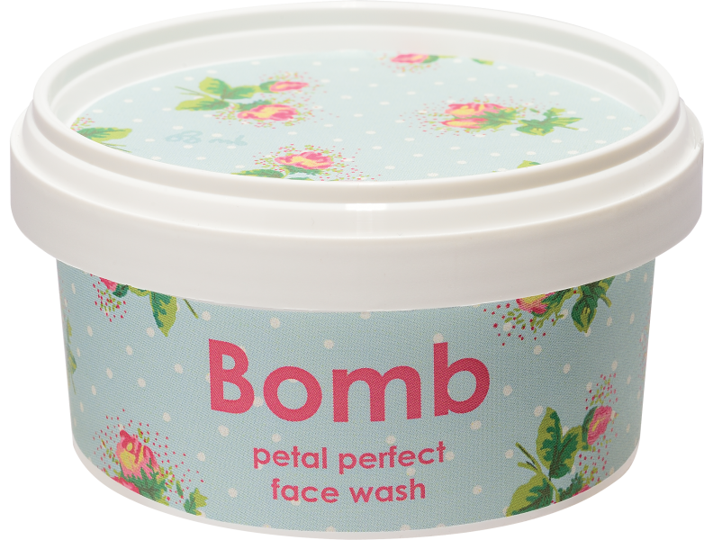Petal Perfect Face Wash Face Wash from Bomb Cosmetics