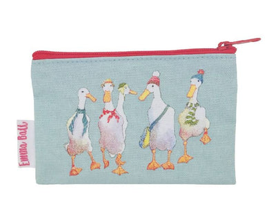 Runner Ducks Zipped Purse - Emma Ball
