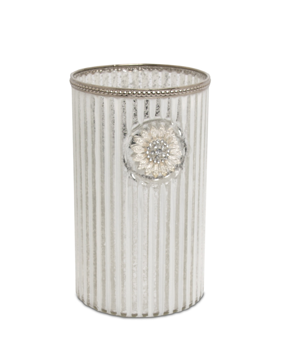 Scallop Pillar Vase - From Heart and Home