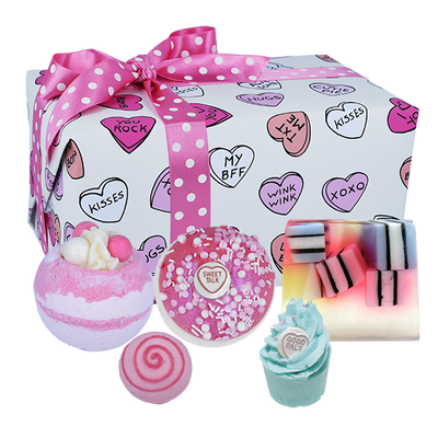 Sweet Illusion Gifts - Wrapped from Bomb Cosmetics