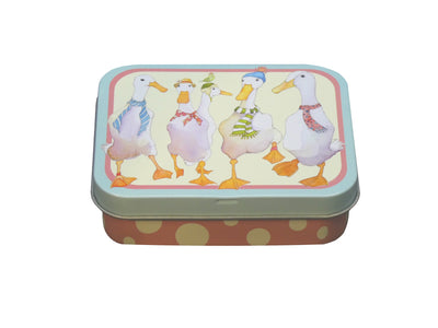 Mini Rectangular Tin - Animal Magic