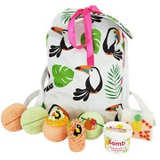 Toucan Play at That Game Gifts - Cotton Bag from Bomb Cosmetics