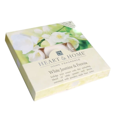 White Jasmine & Freesia - Tealights - From Heart and Home