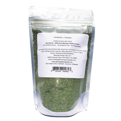 Image of Moringa Energy Loose Leaf Tea (3 oz)