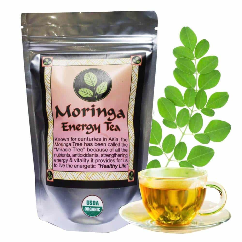 Moringa Energy Loose Leaf Tea (3 oz)