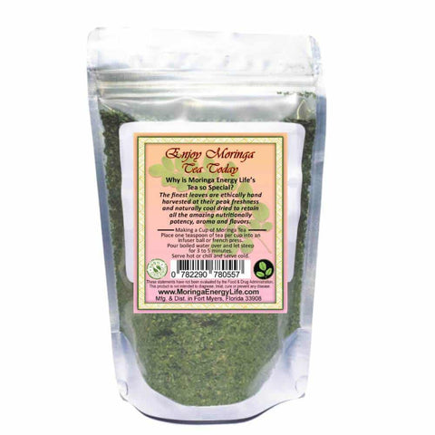 Image of Moringa Ginger Lemon Tea, Loose Leaf 3.4 oz