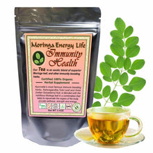 Load image into Gallery viewer, Moringa Immunity Health Tea, Loose Leaf 3.4 oz