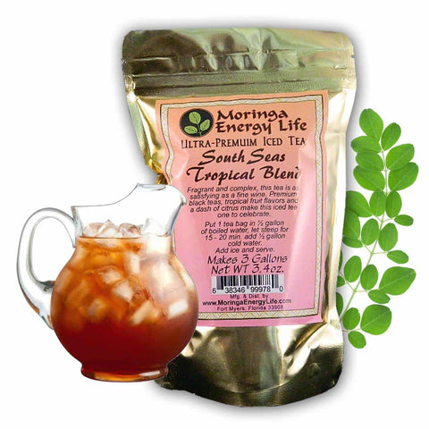 Image of Moringa South Seas Tropical Blend Iced Tea (3 One Gallon Tea Bags)