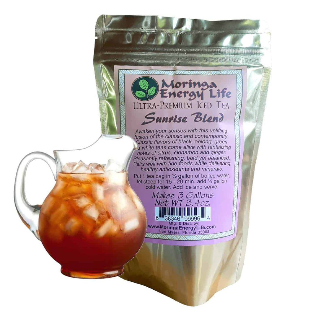 Moringa Sunrise Iced Tea Blend (3 One Gallon Tea bags)
