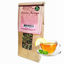 Load image into Gallery viewer, Moringa Ultra-Premium Iced Tea Sunrise-Moringa Blend (Loose leaf)