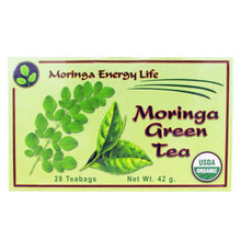 Load image into Gallery viewer, moringa green tea bags organic