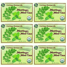 Load image into Gallery viewer, USDA Organic Moringa Mint Tea